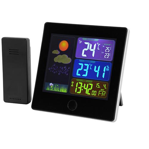 Draadloos weerstation met LCD-scherm
