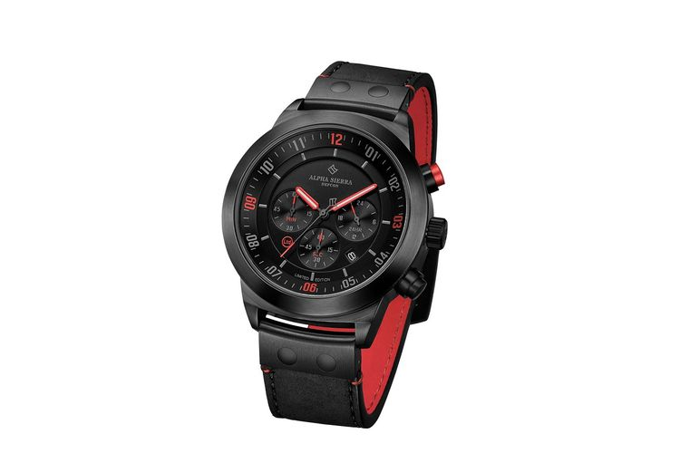 Limited Edition herenhorloge van Alpha Sierra (LGM32RL)