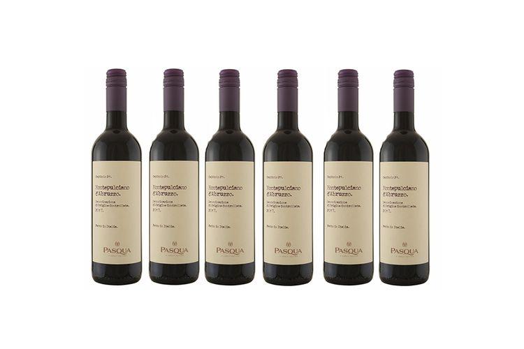6 flessen Montepulciano d'Abruzzo (750 ml)
