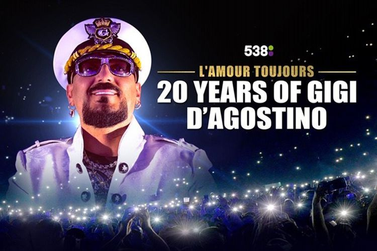 20 Years of Gigi D'Agostino in de Brabanthallen (2 p.)