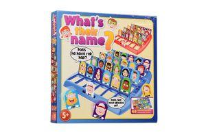 Het spel: Wat is mijn naam?