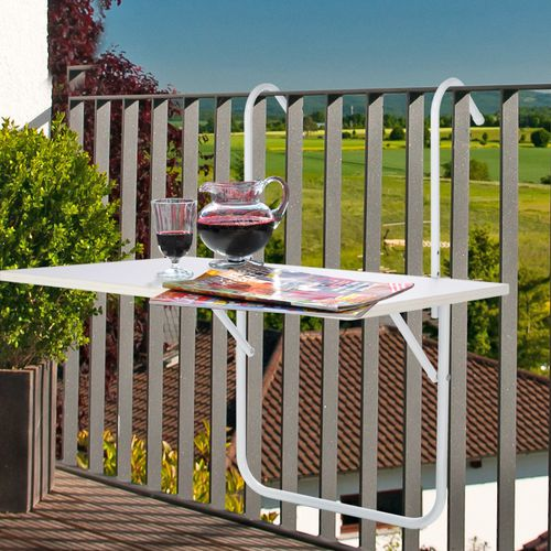Opvouwbare balkontafel - bespaar ruimte op je balkon