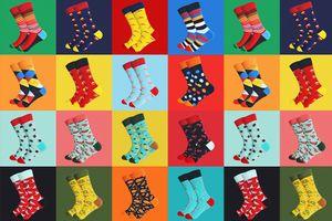 Verrassingspakket met 10 paar sokken (maat: 41 - 46)