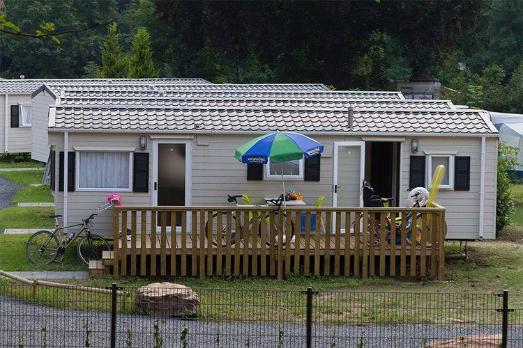 Verblijf in een stacaravan in de Belgische Ardennen