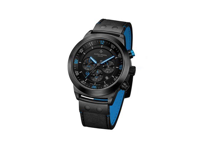 Limited edition herenhorloge van Alpha Sierra