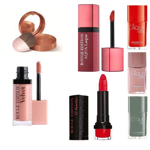Beautypakket met 7 cosmeticaproducten van Bourjois