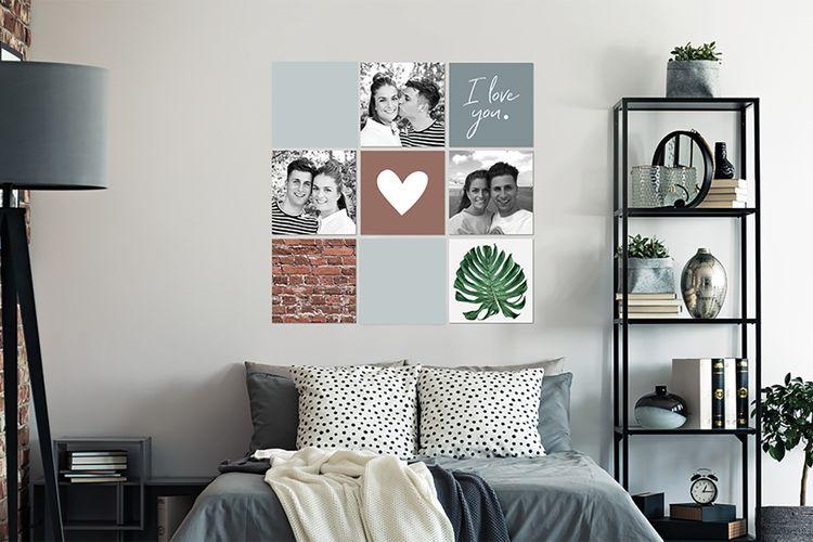 Jouw foto's op een MuchoPix Square (4 stuks 15 x 15 cm)