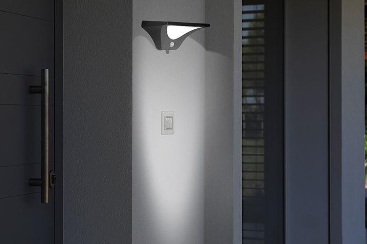 Korting Led buitenlamp met bewegingssensor