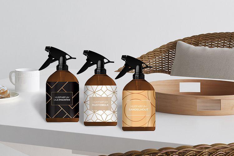 slajeslag 3 verschillende geuren huisparfums (300 ml)
