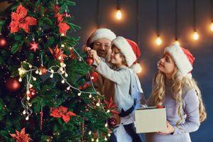 Originele kerstfotoshoot voor 2 personen