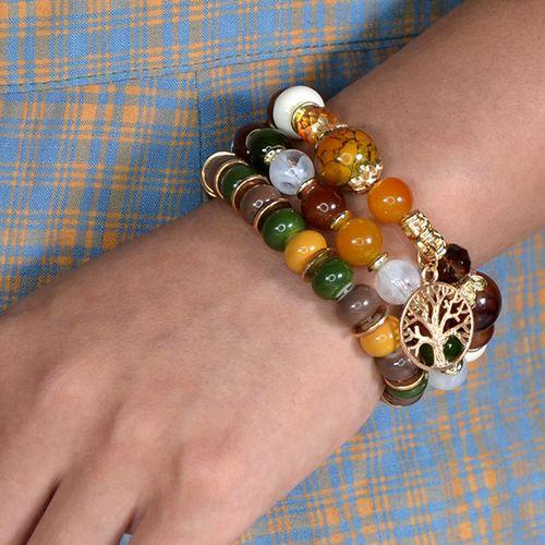 SlaJeSlag 3-delige armbandenset voor dames
