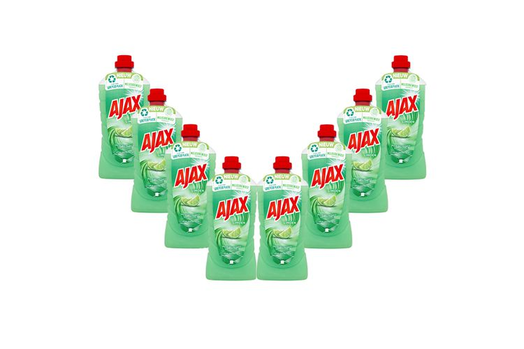 8 flessen Ajax All Purpose allesreiniger (8 x 1 L)