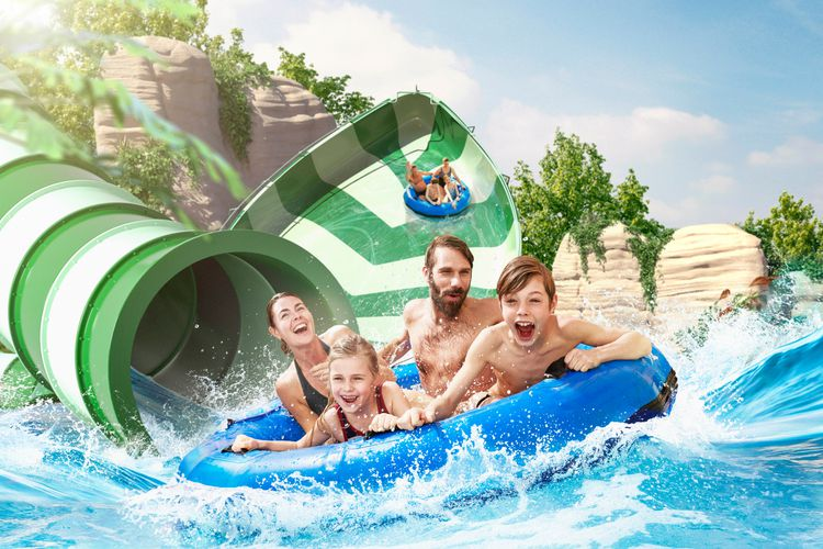 2 tickets voor Bellewaerde Aquapark in Belgi�