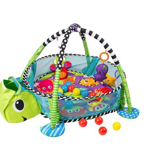 Schildpad speelmat met accessoires