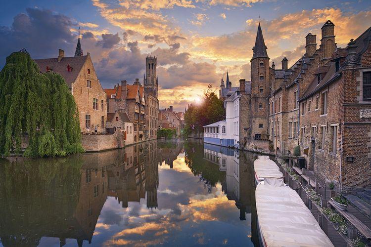 1 nacht in het Velotel in Brugge
