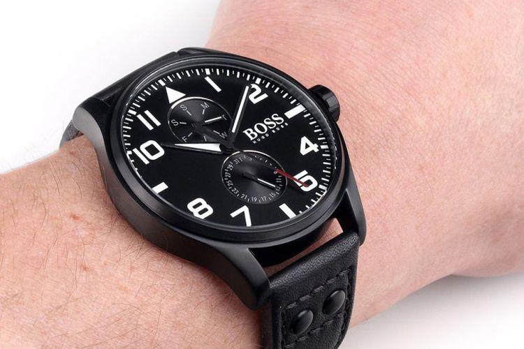 Zwart herenhorloge van Hugo Boss (1513083)