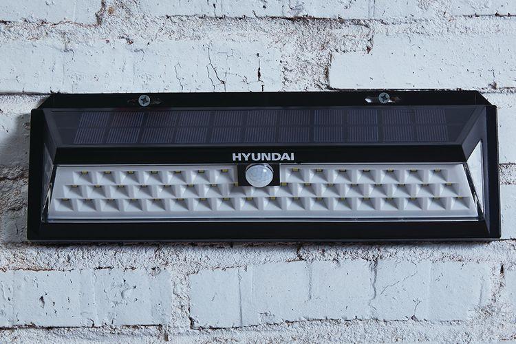 Solarlamp met bewegingssensor van Hyundai (55 leds)