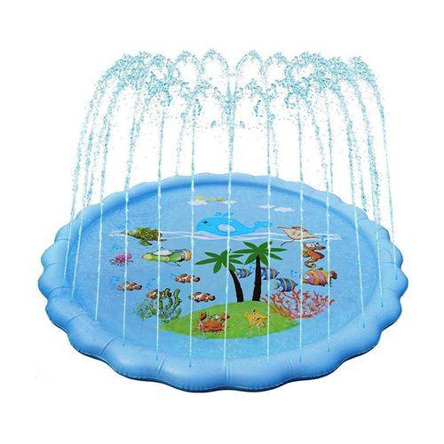 Speelmat met fontein