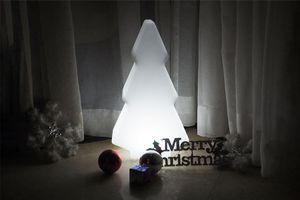 Led-kerstboom op accu voor buiten en binnen (50 cm hoog)