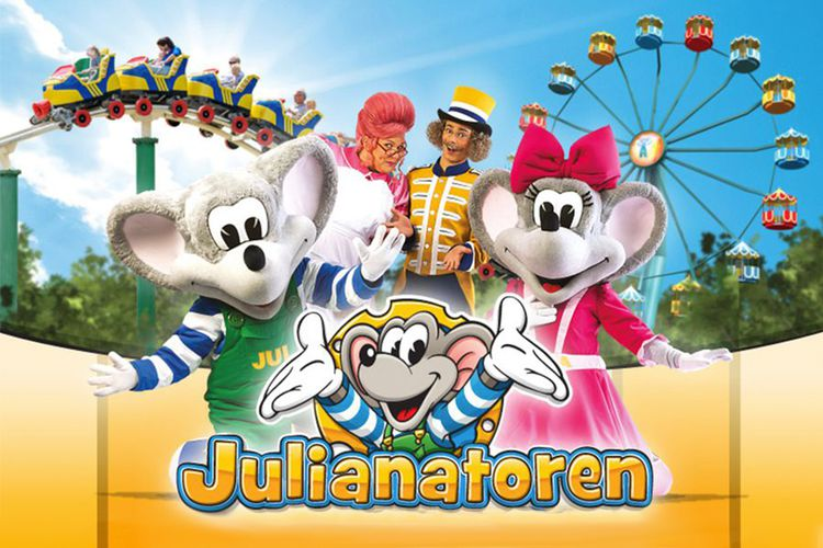Tickets voor Kinderpretpark Julianatoren (2 p.)