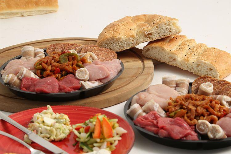 40 procent korting op gourmet of BBQ pakket naar keuze