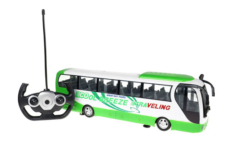 Bestuurbare bus met afstandsbediening (40 cm)