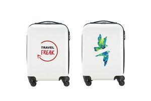 Een bedrukte handbagagekoffer met jouw eigen ontwerp