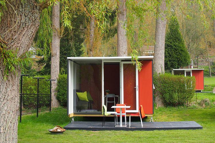 Dit voorjaar: een Lodge in de Ardennen (4 p.)
