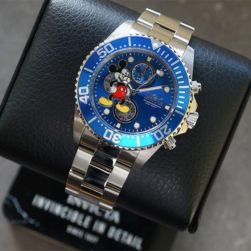 Mickey Mouse-herenhorloge van Invicta