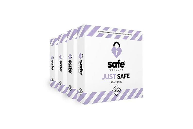 Standaard condooms van Safe (144 stuks)