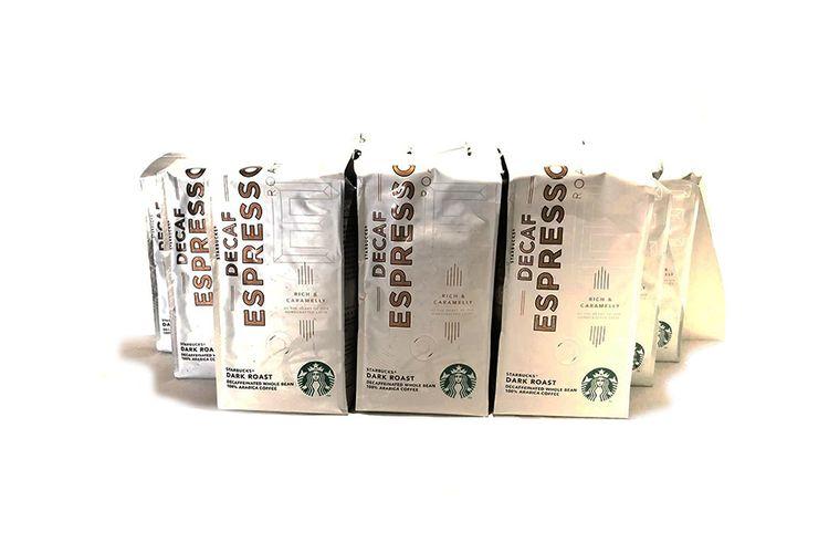 SlaJeSlag 3 kilo decafe koffiebonen van Starbucks