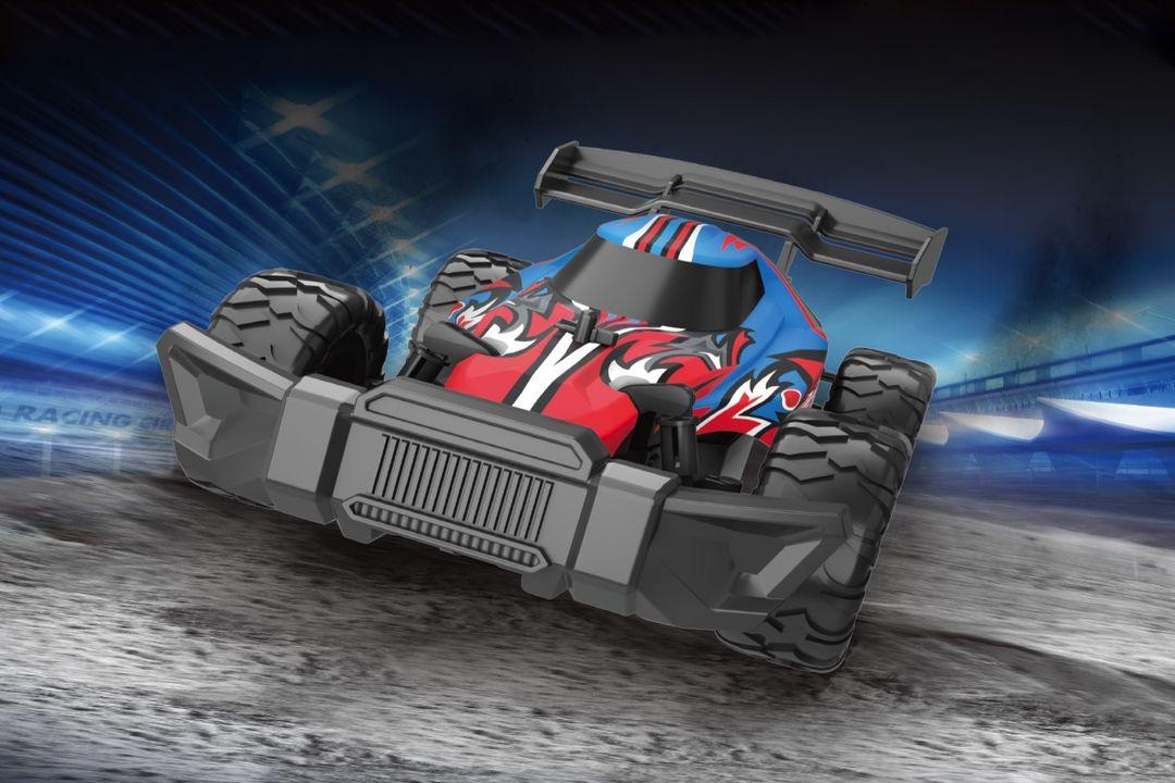 Bestuurbare raceauto (20 km/h)