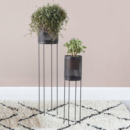 2 metalen plantenbakken van VELYON (model: Santorini)