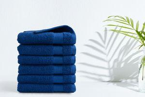 6 handdoeken van hotelkwaliteit (50 x 100 cm)