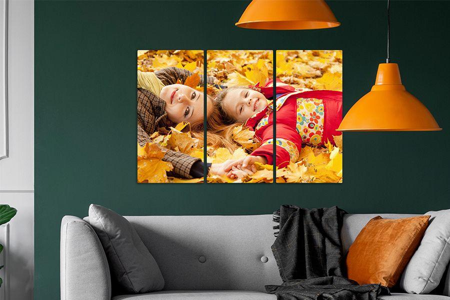 Jouw leukste foto op een meerluik van canvas