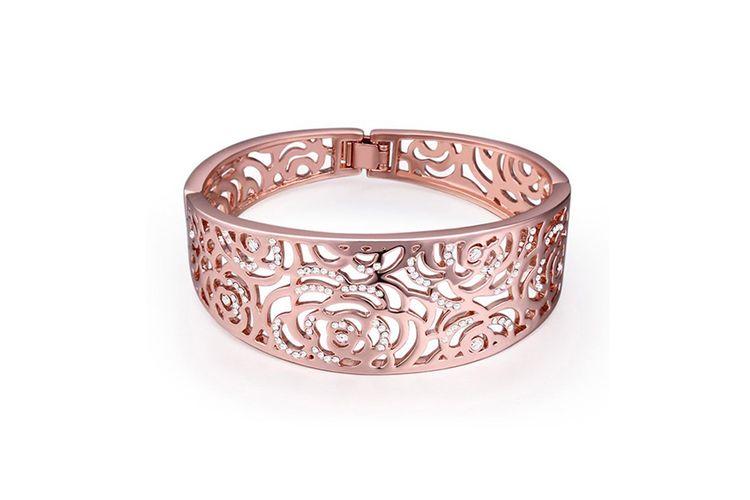 Roségoudkleurige armband (Ecclesia)