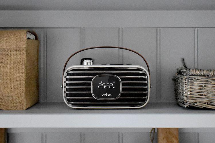 DAB radio wekker en bluetooth speaker van Veho