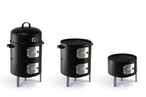 Smoker barbecue van Buccan (model: Durham Smokey Canon)
