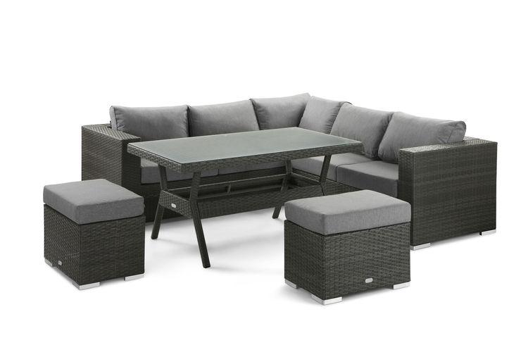 Salon de jardin Table haute - Salon de jardin Feel Furniture avec ...