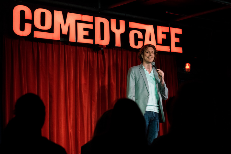 Comedy Café: top stand-up comedy in Amsterdam (2 p.)