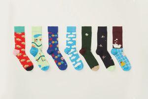 7 paires de chaussettes Happy Socks (taille 41 - 46)