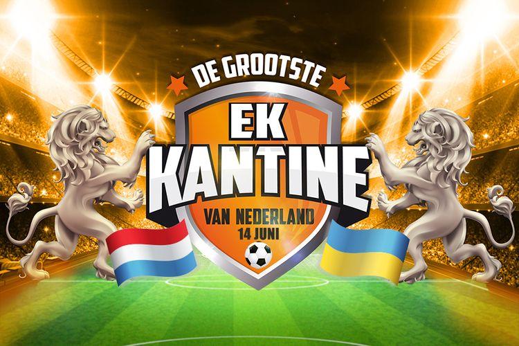 Korting EK 2020 Nederland Oekraïne in Ahoy met Wolter Kroes Rotterdam