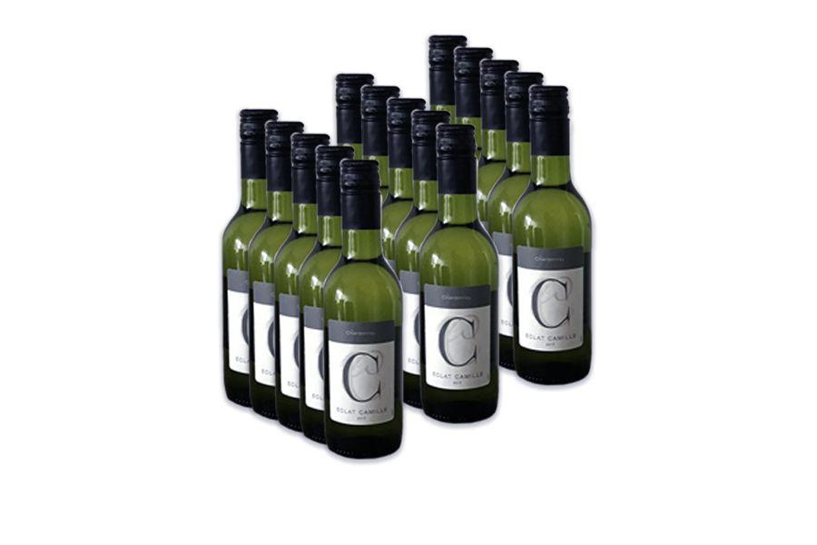 VakantieVeilingen 15 kleine flesjes Chardonnay (250 ml)