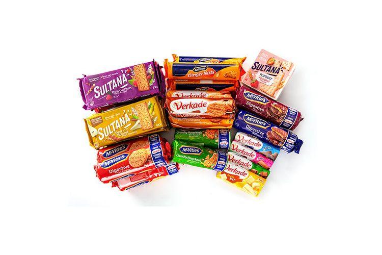 Koek- en chocoladepakket van Verkade