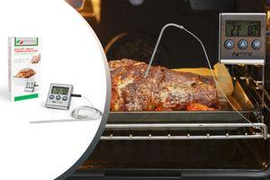 Vleesthermometer met digitale timer van Magnani
