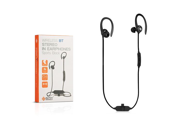 Bluetooth in ear oordopjes van Dutch Originals