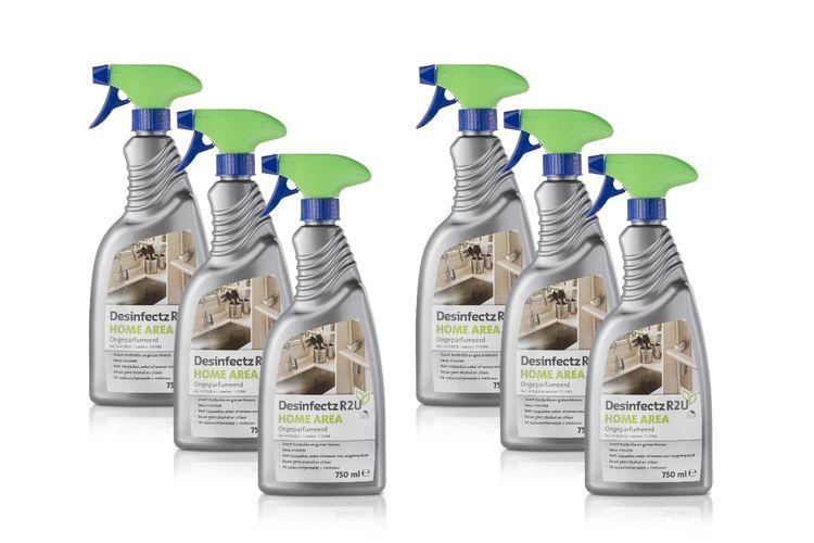 Desinfectz reinigingsspray (6 flessen van 750 ml)