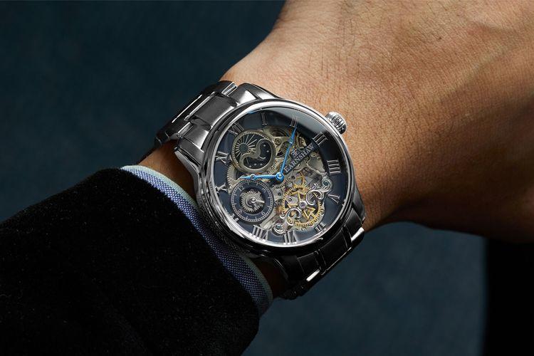 Edelstalen horloge van Thomas Earnshaw (ES-8006-11)