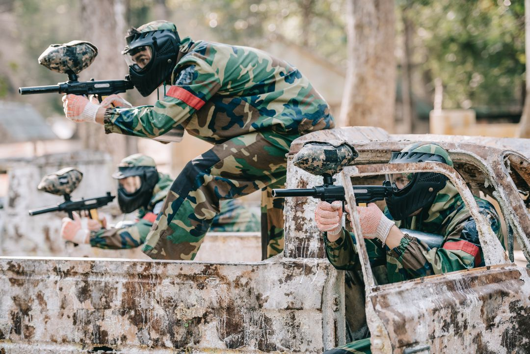 Paintball of airsoft in Antwerpen (12 p.)