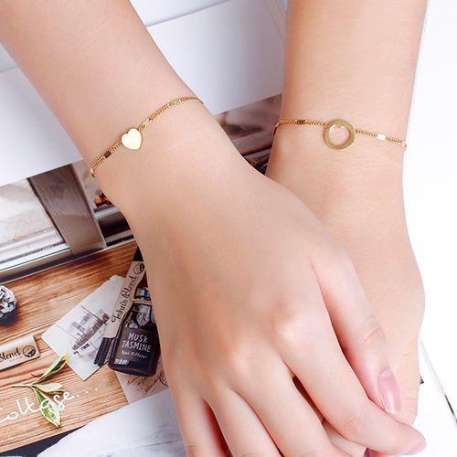Goudkleurige armbandenset